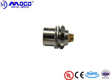 HR10A-7R-6S Industrial Circular Connectors With Self Locking System 50 IP Rating