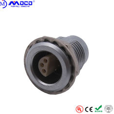 ERA 2S 306 6 Pin Panel Mount Connector , Metal Female Connector