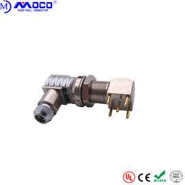 Male To Female Coax Cable Connector EPS 00 250 NTN  Elbow For PCB FLA 00S 250