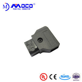 2 Pin Male D Tap Power Connector , Led Light Cable Connector 50 IP Rating