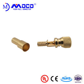 Microdot Coaxial Connectors , 10-32 Male Bnc Cable Connector For NDT System