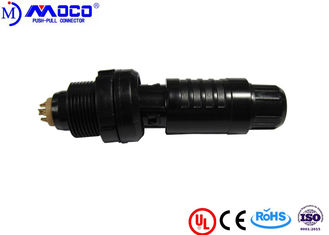 2P 2 - 26 Pin Medical Electrical Connectors Male And Female Black Color