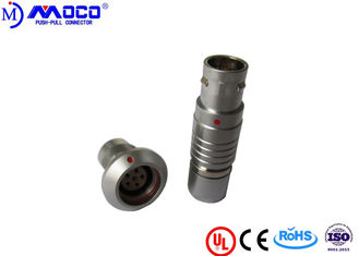 FGG & HHG Watertight 6 Pin Female Connector , M12 Circular Connector