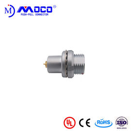Panel Mount Waterproof Circular Connectors Chrome Plated Brass HEG.1T Alternator 2 / 7 Pin