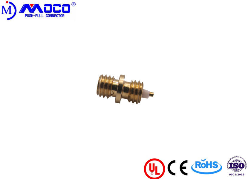 10-32 Digital Coaxial Cable Connectors UL Certificated 5000 Mating Cycles Endurance