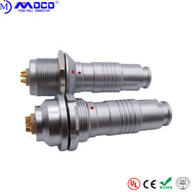 China 2 - 26 Pin Outdoor Waterproof Wire Connectors , Ip68 Circular Connectors K Series factory