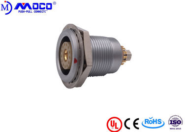 China Electrical Quick Metal Circular Connector 13 Pin 1 Coaxial Pole 3B Size factory